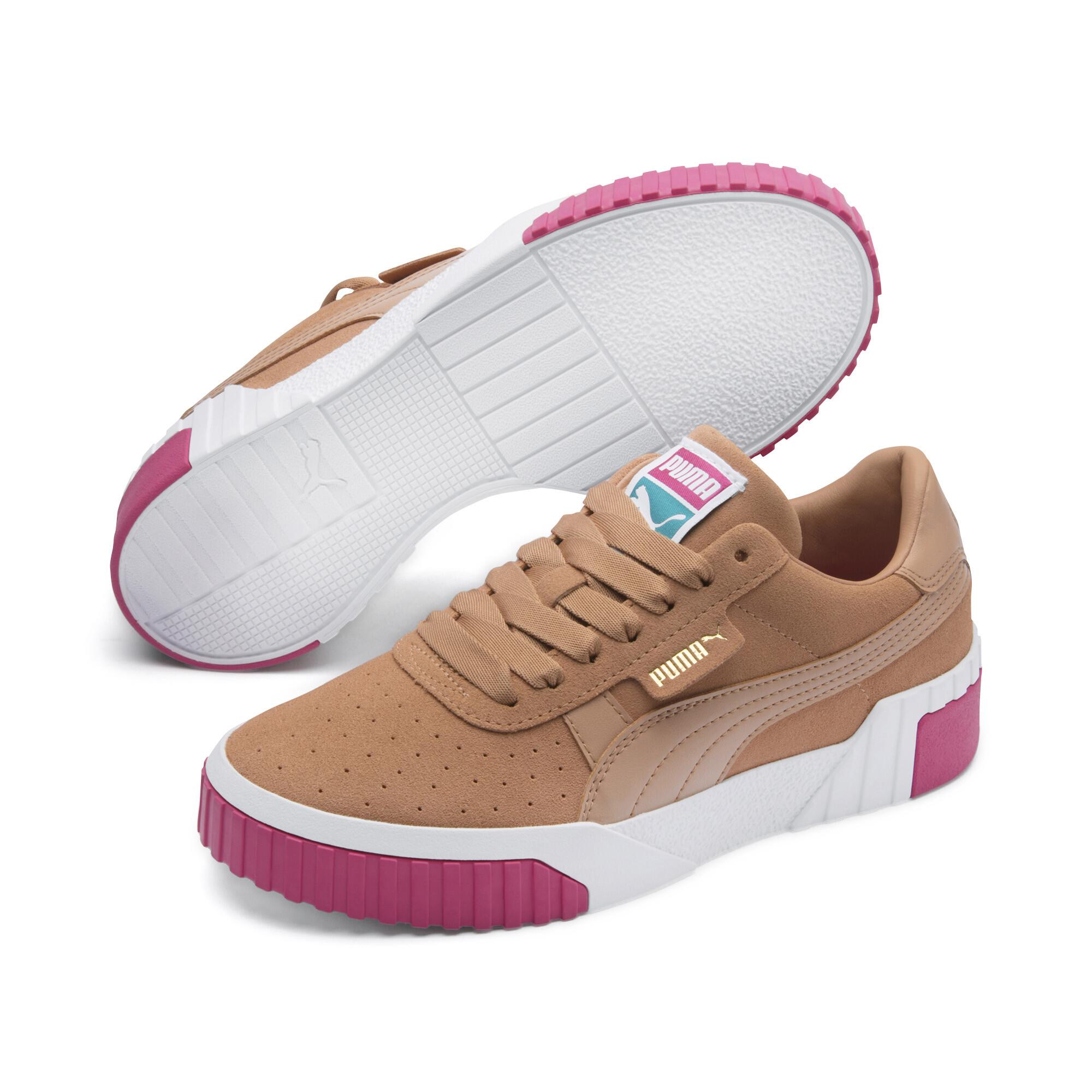 Image Puma Cali Suede Women's Sneakers #3