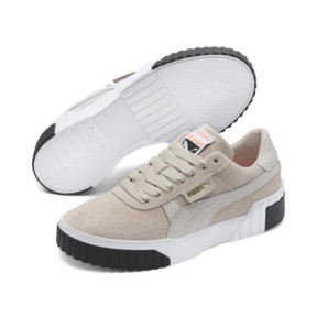 Thumbnail 2 of Cali Suede Women's Sneakers, Silver Gray-Silver Gray, medium