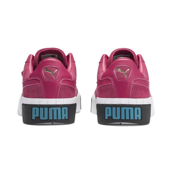 Cali Suede Women's Sneakers, Fuchsia Purple, large