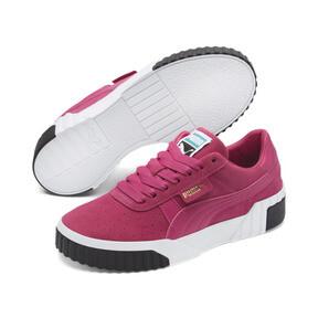 Thumbnail 2 of Cali Suede Women's Sneakers, Fuchsia Purple, medium