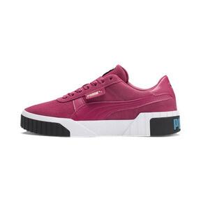 Thumbnail 1 of Cali Suede Women's Sneakers, Fuchsia Purple, medium