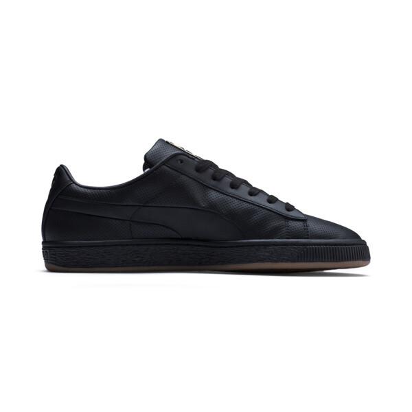 Basket Classic Gum sneakers, Puma Black-Gum, large