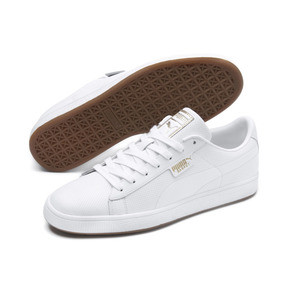 Thumbnail 2 of Basket Classic Gum Trainers, Puma White-Gum, medium
