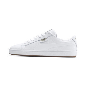 Thumbnail 1 of Basket Classic Gum Trainers, Puma White-Gum, medium