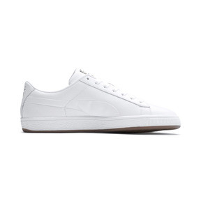 Thumbnail 5 of Basket Classic Gum Trainers, Puma White-Gum, medium
