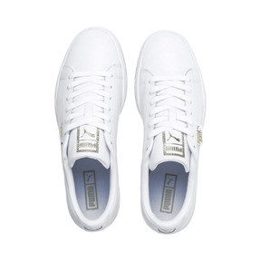 Thumbnail 6 of Basket Classic Gum Trainers, Puma White-Gum, medium
