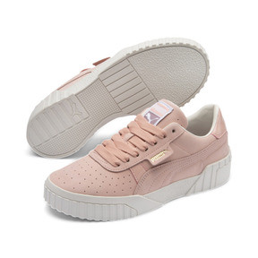 Thumbnail 3 of Cali Nubuck Women's Trainers, Peach Bud-Peach Bud, medium