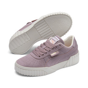 Thumbnail 4 of Basket Cali Nubuck pour femme, Elderberry, medium