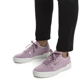 Thumbnail 3 of Basket Cali Nubuck pour femme, Elderberry, medium