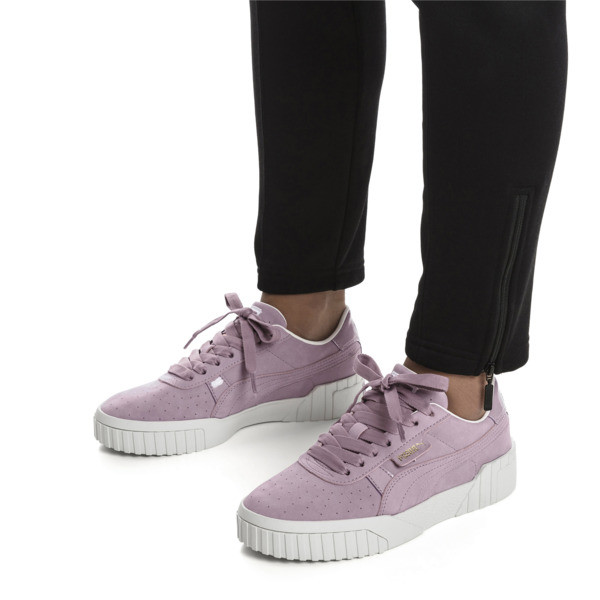 Cali Nubuck Women's Sneakers, Elderberry, large