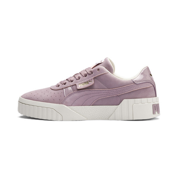 Cali Nubuck Women's Trainers, Elderberry, large