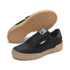 Thumbnail 2 of Cali Nubuck Women's Sneakers, Puma Black-Puma Black, medium