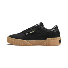 Thumbnail 1 of Cali Nubuck Women's Sneakers, Puma Black-Puma Black, medium