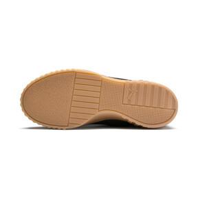 Thumbnail 3 of Cali Nubuck Women's Sneakers, Puma Black-Puma Black, medium