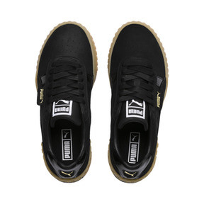 Thumbnail 6 of Cali Nubuck Women's Sneakers, Puma Black-Puma Black, medium
