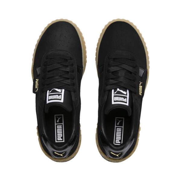 Cali Nubuck Women's Sneakers, Puma Black-Puma Black, large