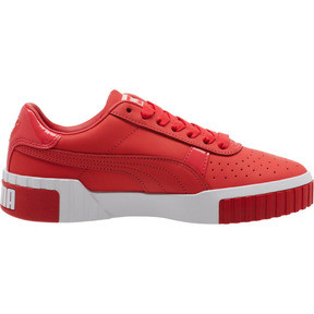 Thumbnail 4 of Cali Nubuck Women's Sneakers, Hibiscus -Puma White, medium