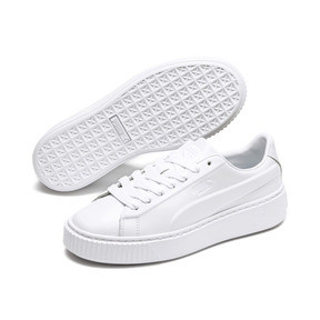 Thumbnail 2 of Platform Seamless Women's Trainers, Puma White-Ponderosa Pine, medium