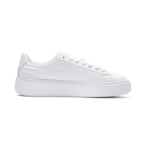 Thumbnail 5 of Platform Seamless Women's Trainers, Puma White-Ponderosa Pine, medium