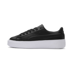 Thumbnail 1 of Platform Seamless Women's Trainers, Puma Black-Puma White, medium