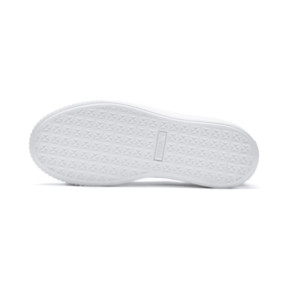Thumbnail 4 of Platform Seamless Women's Trainers, Puma Black-Puma White, medium