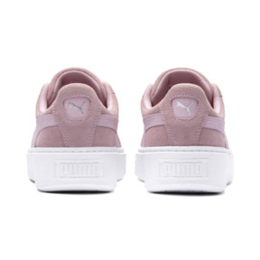 Thumbnail 4 of Suede Platform Galaxy Women's Sneakers, Pale Pink-Puma Silver, medium