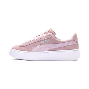 Thumbnail 1 of Suede Platform Galaxy Women's Sneakers, Pale Pink-Puma Silver, medium
