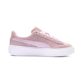 Thumbnail 6 of Suede Platform Galaxy Women's Sneakers, Pale Pink-Puma Silver, medium
