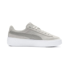 Thumbnail 5 of Suede Platform Galaxy Women's Sneakers, Gray Violet-Puma Silver, medium