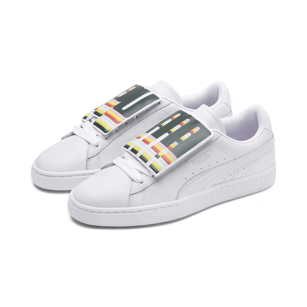 Image Puma Basket Badge Women's Sneakers #2