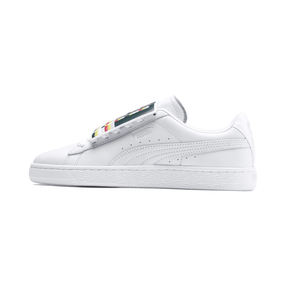 Image PUMA Basket Badge Women's Sneakers #1