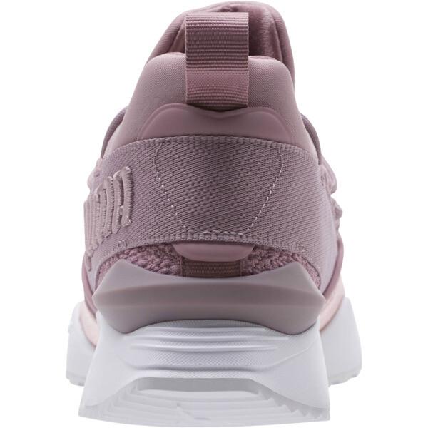 Muse Maia Bio Hacking Women's Sneakers, Elderberry-Bright Peach, large