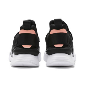 Thumbnail 3 of Muse Maia Bio Hacking Women's Sneakers, Puma Black-Bright Peach, medium