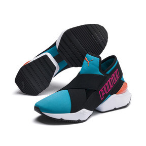 Thumbnail 3 of Muse 2 EOS Trailblazer Women's Sneakers, Caribbean Sea-Puma Black, medium