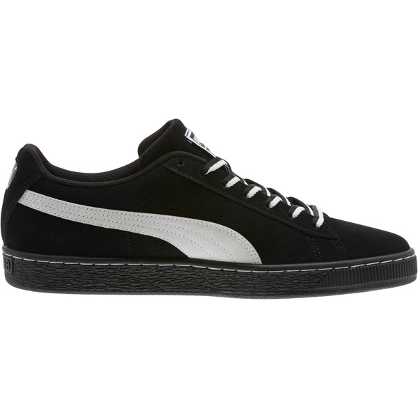 """Suede Classic """"Other Side"""" Sneakers, Puma Black-Puma White, large"""
