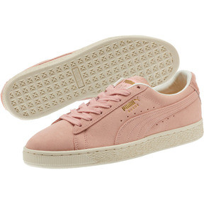 Thumbnail 2 of Suede Classic Easter Sneakers, Coral Cloud-Whisper White, medium