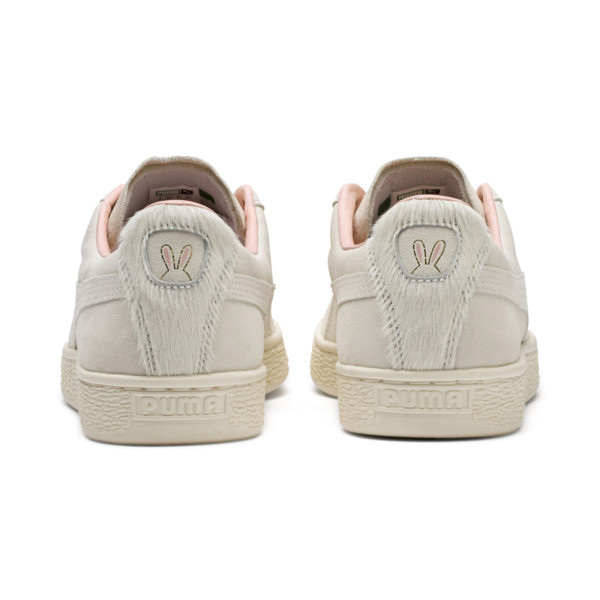 Suede Classic Easter sportschoenen voor dames, Whisper White-Whisper White, large