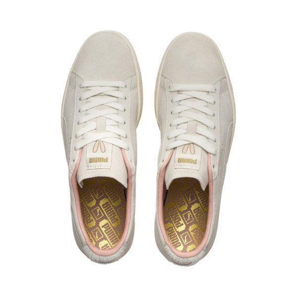 Suede Classic Easter Sneakers, Whisper White-Whisper White, large