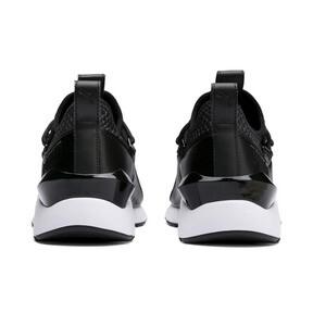 Thumbnail 4 of Muse 2 Reptile Trailblazer Women's Sneakers, Puma Black, medium