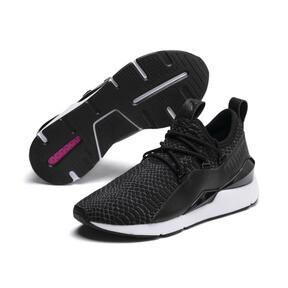 Thumbnail 3 of Muse 2 Reptile Damen Sneaker, Puma Black, medium