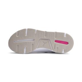 Thumbnail 3 of Muse 2 Reptile Trailblazer Women's Sneakers, Puma White-Fuchsia Purple, medium