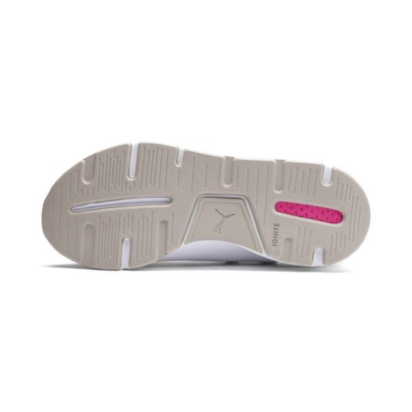 Muse 2 Reptile Trailblazer Women's Sneakers, Puma White-Fuchsia Purple, large