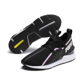 Thumbnail 3 of MUSE 2 Trailblazer Women's Trainers, Puma Black-Lilac Sachet, medium