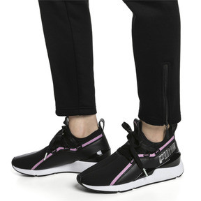 Thumbnail 2 of MUSE 2 Trailblazer Women's Trainers, Puma Black-Lilac Sachet, medium