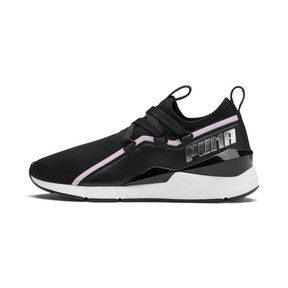 Thumbnail 1 of MUSE 2 Trailblazer Women's Trainers, Puma Black-Lilac Sachet, medium