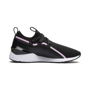 Thumbnail 6 of MUSE 2 Trailblazer Women's Trainers, Puma Black-Lilac Sachet, medium