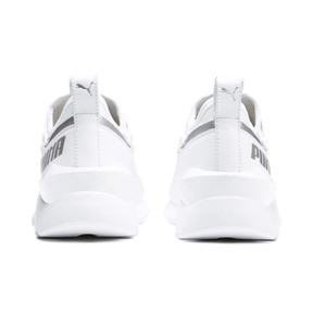 Thumbnail 4 of Muse 2 TZ Damen Sneaker, Puma White-Puma Silver, medium