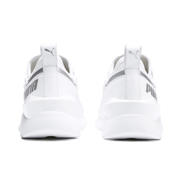 MUSE 2 Trailblazer Women's Trainers, Puma White-Puma Silver, large