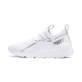 Thumbnail 1 of MUSE 2 Trailblazer Women's Trainers, Puma White-Puma Silver, medium