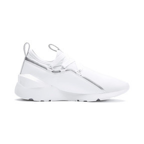 Thumbnail 6 of Muse 2 TZ Damen Sneaker, Puma White-Puma Silver, medium